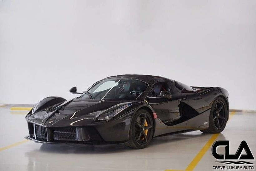 Ferrari Laferrari For Sale >> The 12 Million Dream Ferrari Laferrari Aperta Comes Up For