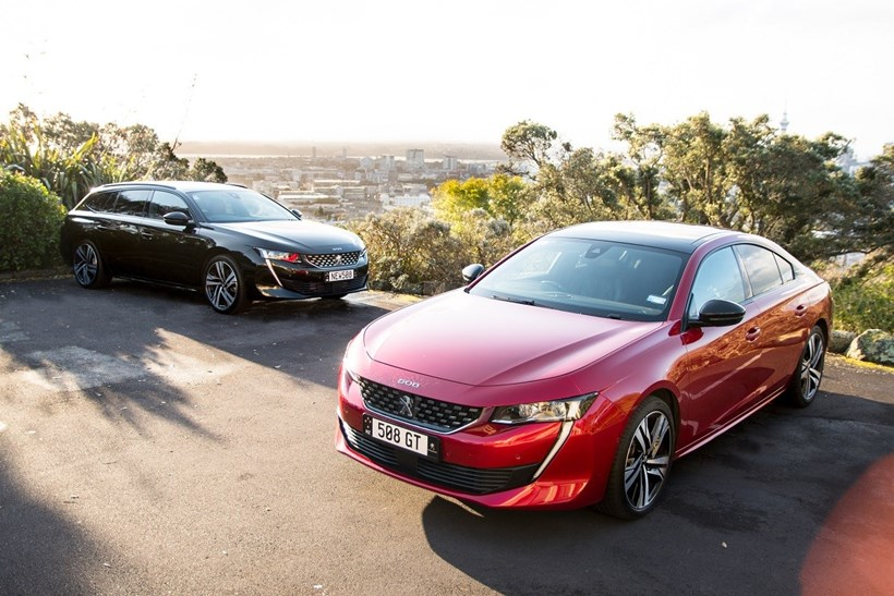 Peugeot 508. Photos / Matthew Hansen