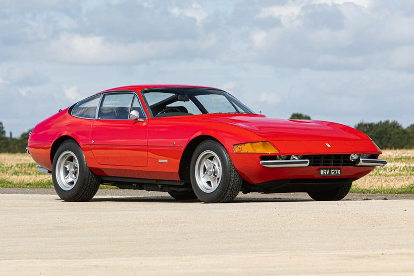 Sir Elton John's 1972 Ferrari 365 GTB/4 Daytona. Pic/Supplied