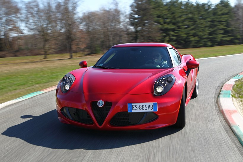 Italian cars such as the Alfa Romeo 4C are all about style, looks and sound. Picture / Supplied