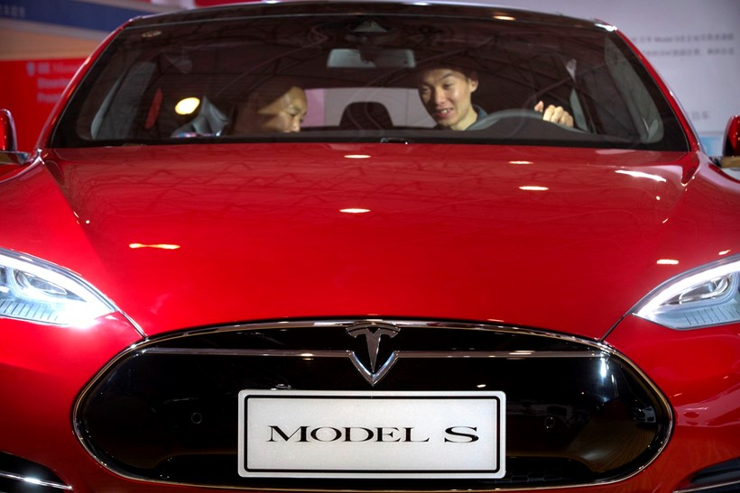The Tesla Model S was on Autopilot when the fatal car crash occurred. Photo / AP