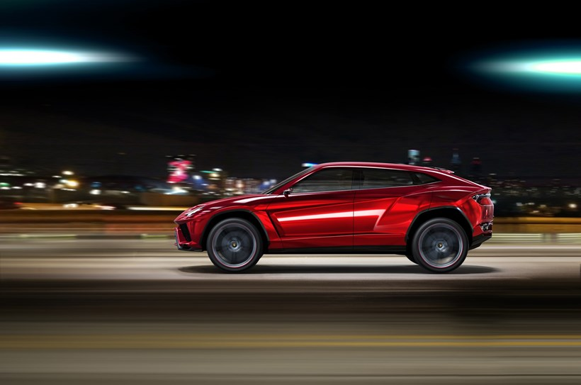 The Lamborghini Urus SUV has tested using cameras as rear- or side-view mirrors.Picture / Supplied