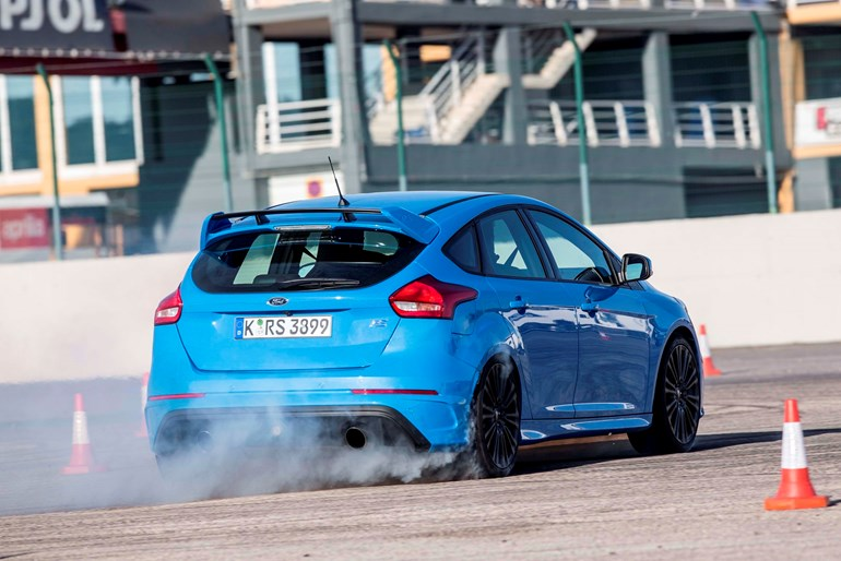 The 50 Ford Focus RS models imported into New Zealand all had the active drift mode.