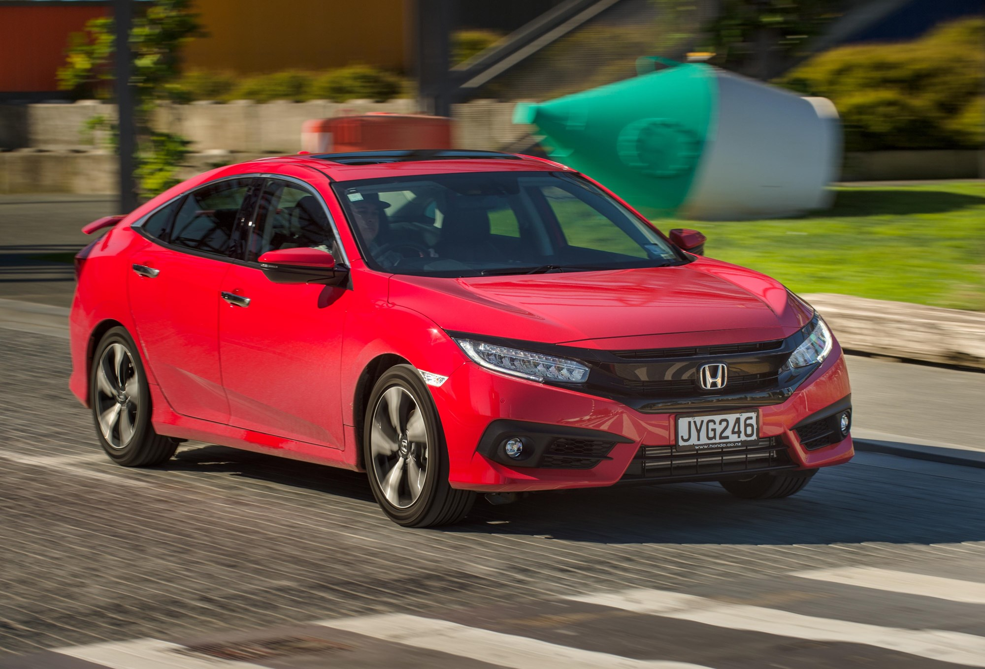 THE NEW HONDA CIVIC IS LIGHT YEARS FROM FIRST