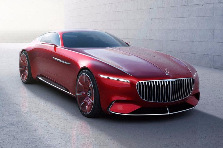 Leaked images of the Vision Mercedes-Maybach 6 were published online earlier this week. Pictures / Supplied