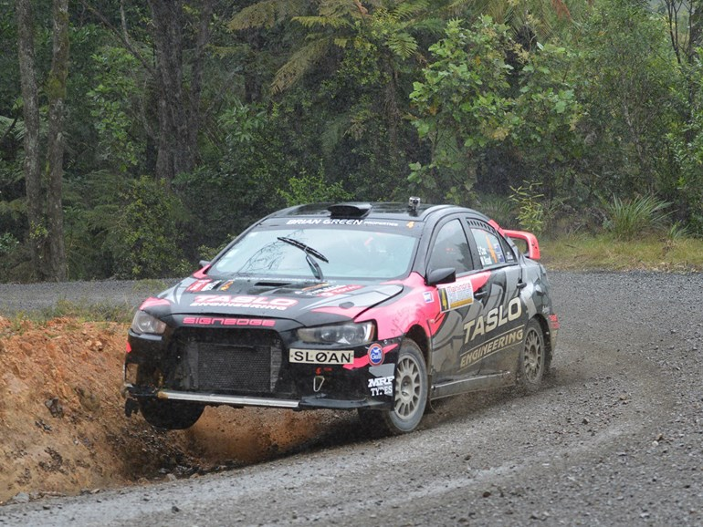 Rotorua's Sloan Cox gained second place in the NZ Rally Championship. Picture / Colin Smith