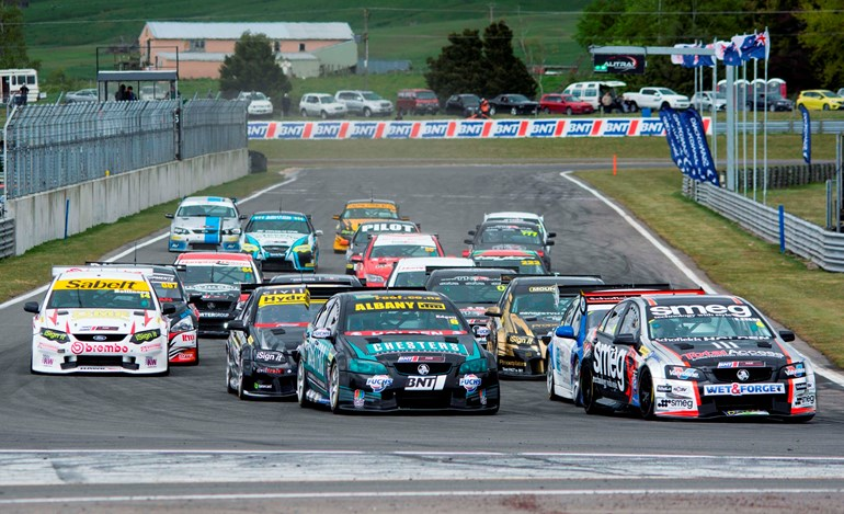 The next season of the BNT NZ Touring Car Championship will include new measures to ensure parity among the Class One entrants. Picture / Matthew Hansen