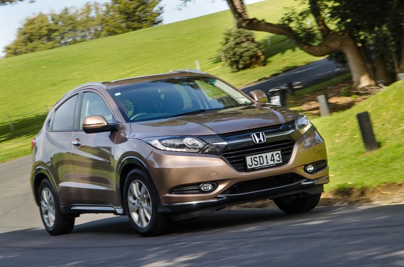 The Honda HR-V has great storage, discreet signage and comes in more than silver.  Pictures / Matthew Hansen