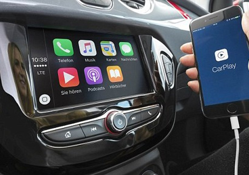 Road safety campaigners are warning about the dangers of using touchscreens while behind the wheel. Picture/Supplied