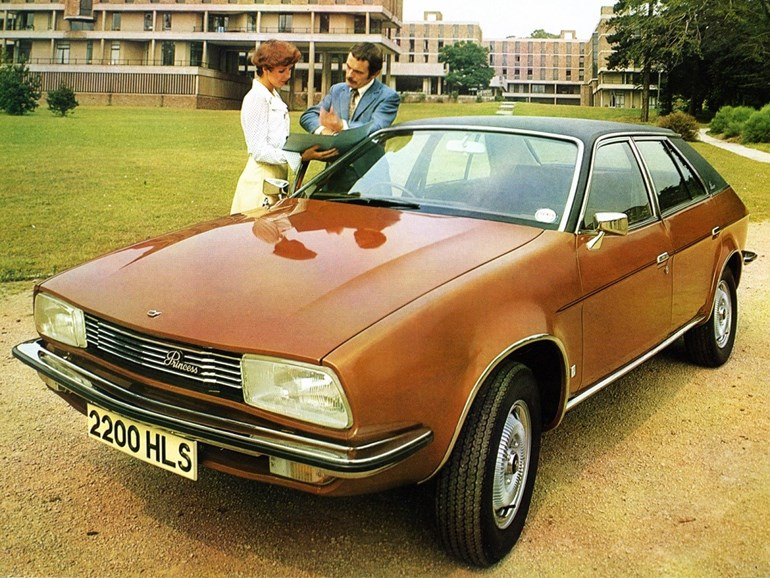 Brown cars such as this Austin Princess from the 1970s are making a comeback. Picture / Supplied.