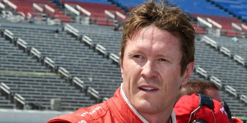 Scott Dixon was unhappy at finishing sixth in this year's IndyCar championship. Photo / AP