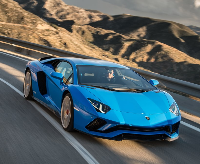 Lamborghini Aventador S stretches its legs. Photos / Supplied