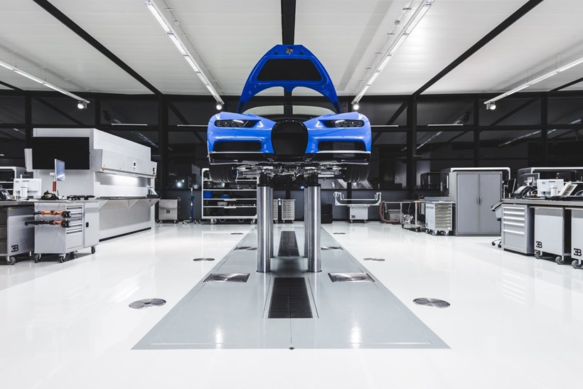 Bugatti Chiron: inside the Molsheim dream factory - Previews - Driven