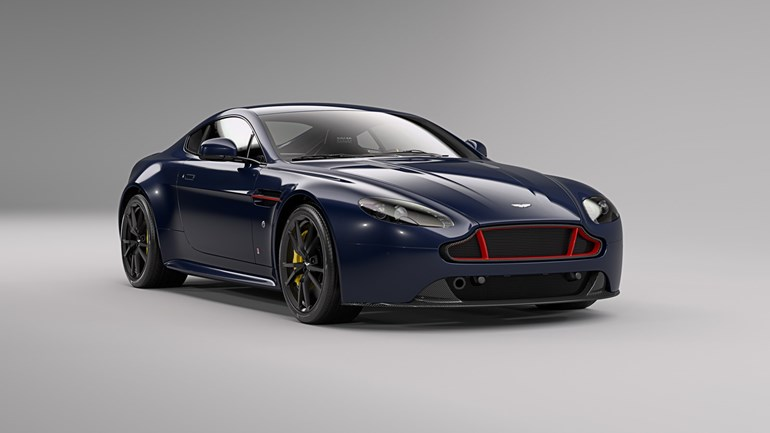 Aston Martin Vantage S Red Bull Racing Edition. Photos / Supplied