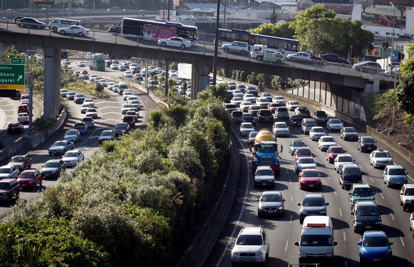 Auckland is ranked as the 47th most congested city on the planet. Photo / File