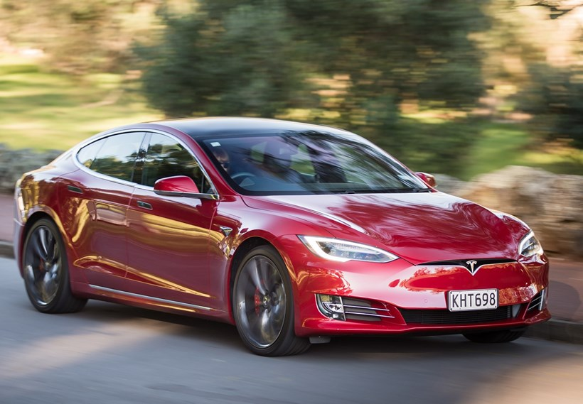 The long-awaited NZ-new Tesla Model S has arrived. Pictures / Ted Baghurst
