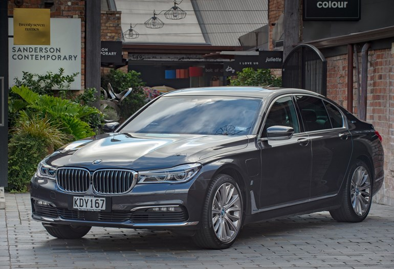 The BMW 740e is an ideal city car. Pictures / Ted Baghurst