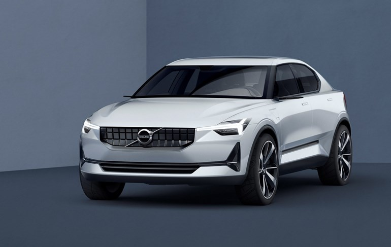 Volvo 40.2 electric vehicle concept from 2016. Photo / Supplied