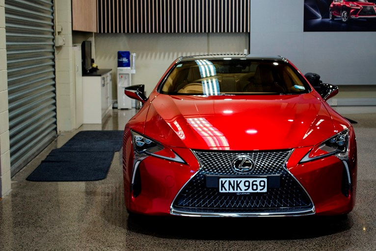 the first lexus lc 500s arrive in nz and they look spectacular previews. Black Bedroom Furniture Sets. Home Design Ideas