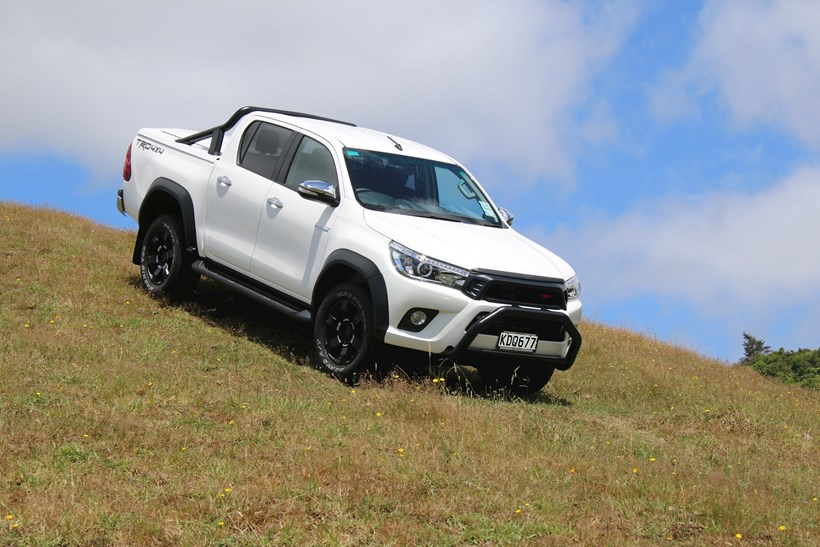 There were 779 Hilux utes registered last month. Photo / Supplied