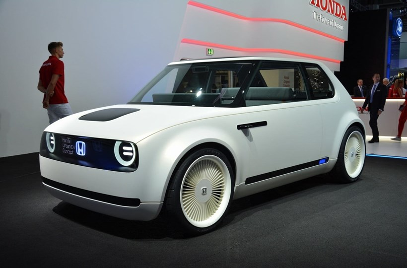 Once again, a tiny Japanese car best thing at Euro auto show. Photo / Supplied
