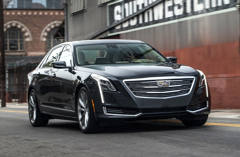 The Cadillac CT6 sedan will arrive in dealerships with semi-autonomous features. Photos / Supplied