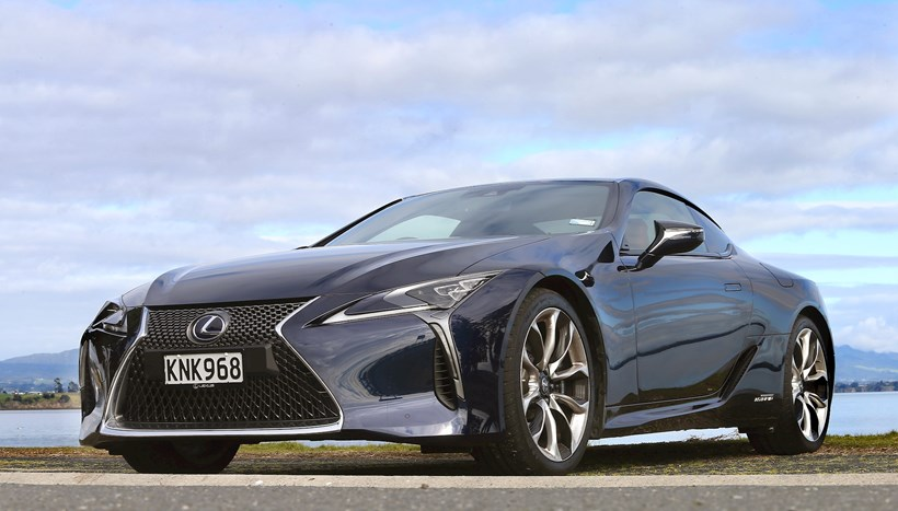 Driven. Lexus LC 500L. Photo / Supplied