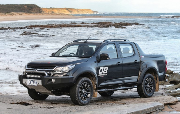 Holden Build Their Ultimate Colorado Surf Truck Previews