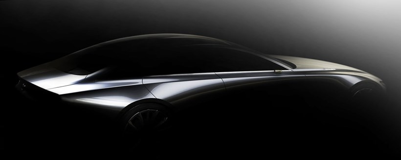 Mazda's next-generation design vision concept. Photos / Mazda