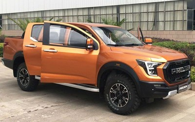 Chinese company's blatant Ford Raptor rip-off gets uncovered