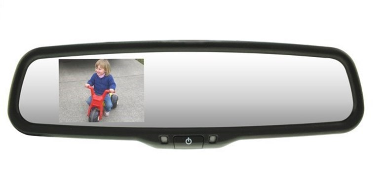 A reversing camera is a handy aid - but commonsense is still required. Pictures / Camz Autosound and Security