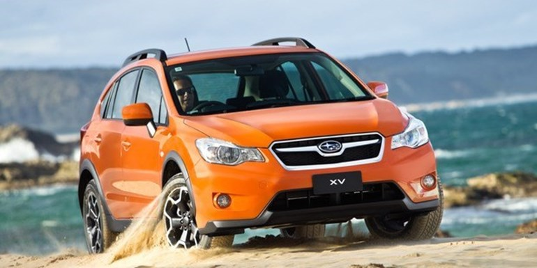 The Subaru XV crossover has a sports lineartronic transmission.