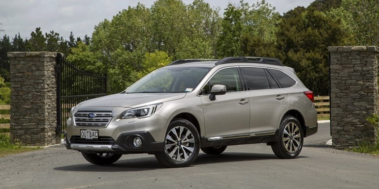The new Subaru Outback goes on sale in New Zealand in February.
