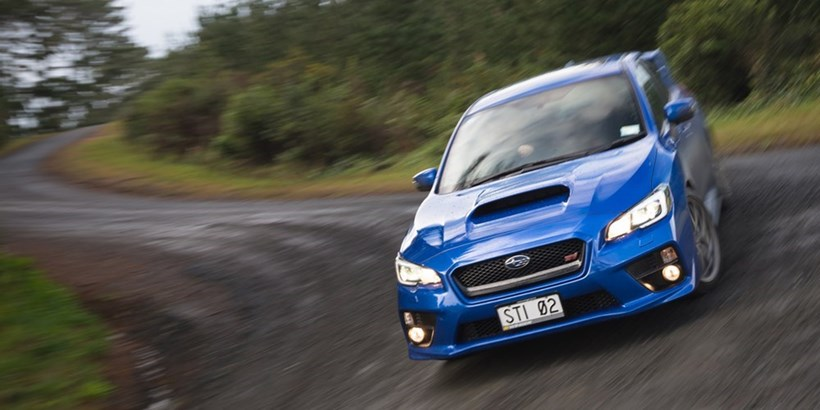 A clever centre diff gives the Subaru WRX STI nicely balanced AWD performance, whether you need extra power in front or in the rear. Pictures / Ted Baghurst