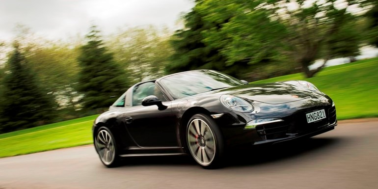 The 2015 Porsche 911 Targa 4S starts at $256,000. Photos / Ted Baghurst