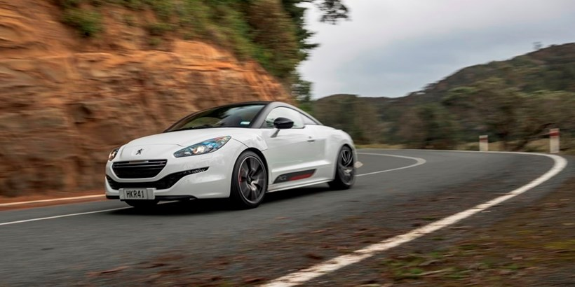 Peugeot's RCZ R. Pictures / Ted Baghurst
