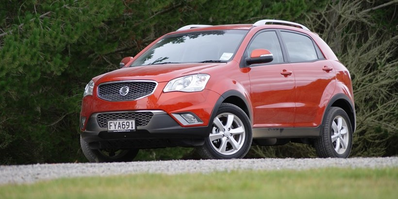 It's out with the old and in with the new for Korando. Photo / Supplied