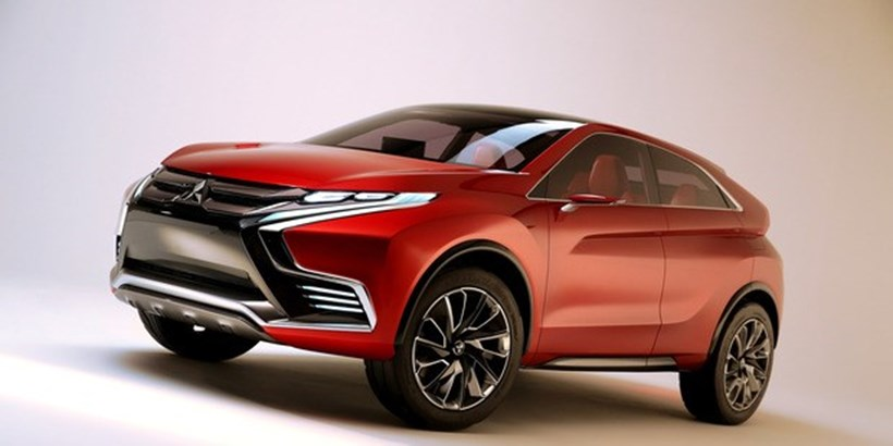 The Mitsubishi Concept XR-PHEV II will be unveiled at the Geneva Motor Show next week. Photos / Supplied