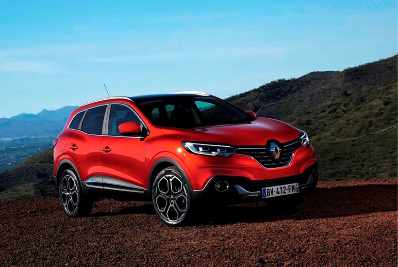 The 4.45 Renault Kadjar is one of the new breed of SUVs. Picture:AP