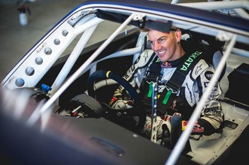 Kiwi drifting international 'Mad Mike' Whiddett.