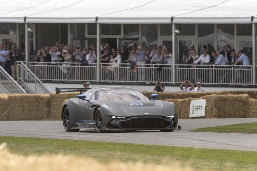 Aston Martin Vulcan track-only super car at Goodwood Festival of Speed. Photo/Supplied
