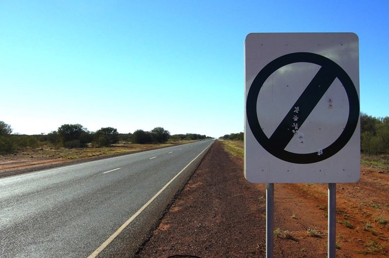 The Northern Territory may expand the number of speed-limit-free roads.