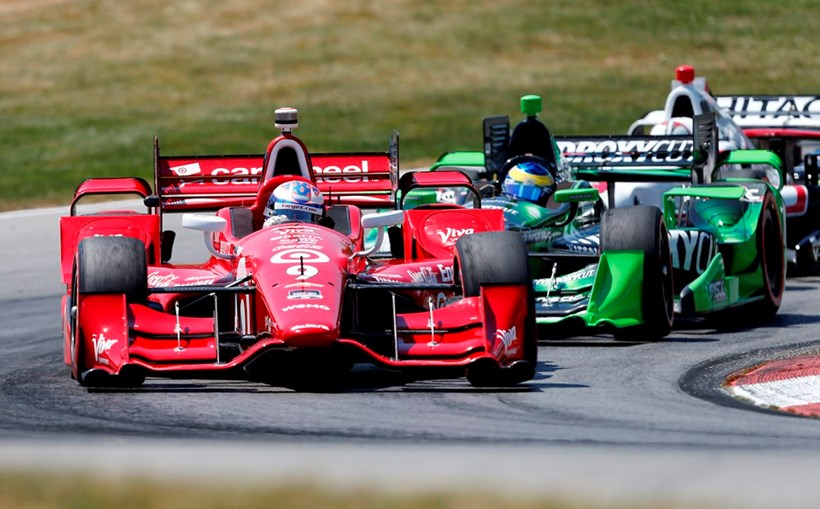 Scott Dixon in IndyCar racing series