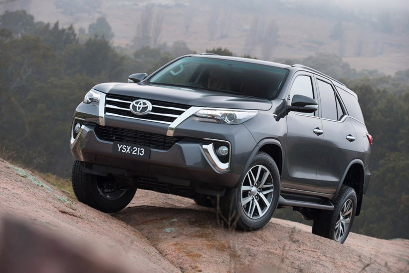 The new Toyota Fortuner is expected to go on sale here from early 2016.