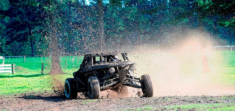 Lotto millionare Trevor Cooper will be competing in the NZ1000 off-road race. Main photo by Caitlin Baker