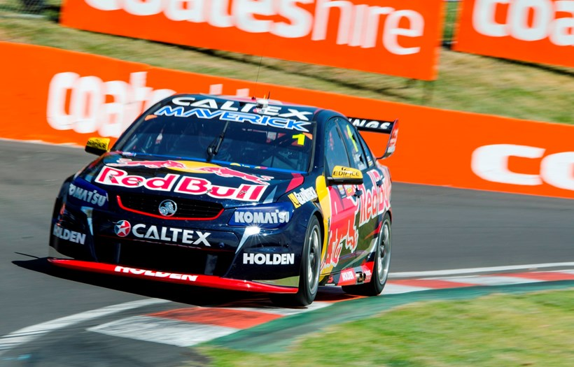 Jamie Whincup wasn't as successful as his team mate in 2015. Photo / Matthew Hansen