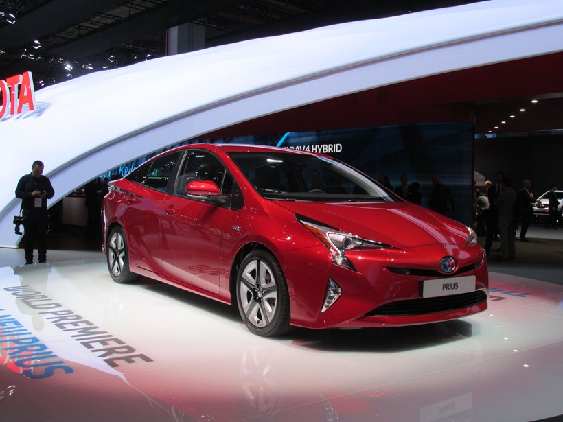 The 2016 Toyota Prius was debuted at the Frankfurt Motor Show. Photo / Liz Dobson