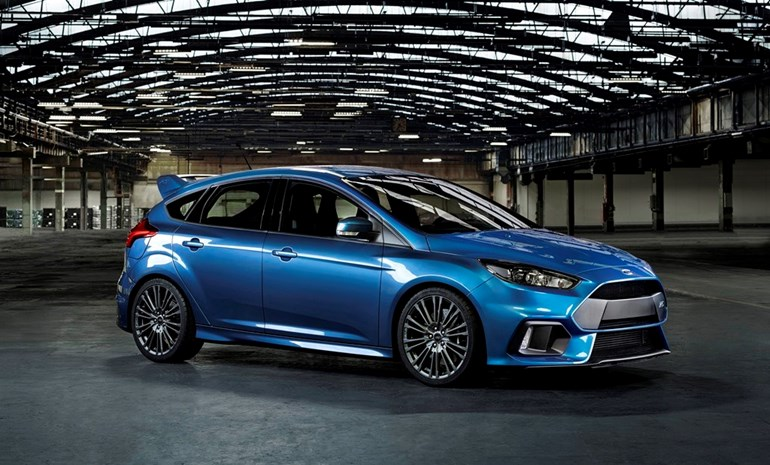The new Ford Focus RS, scheduled to land in NZ mid-2016. Photo / Supplied