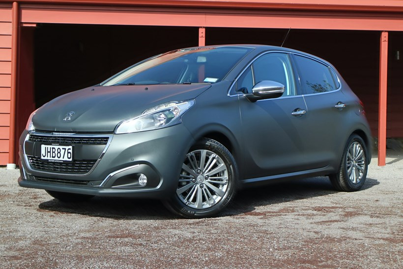 The Peugeot 208 has benefited enormously from a facelift. Pictures / Damien O'Carroll