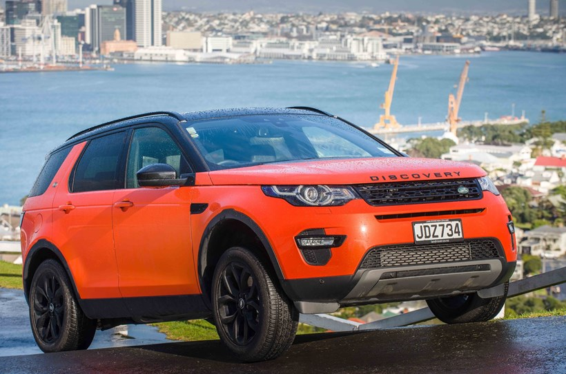 Driven Medium SUV of the Year, the Land Rover Discovery Sport. Picture/Ted Baghurst